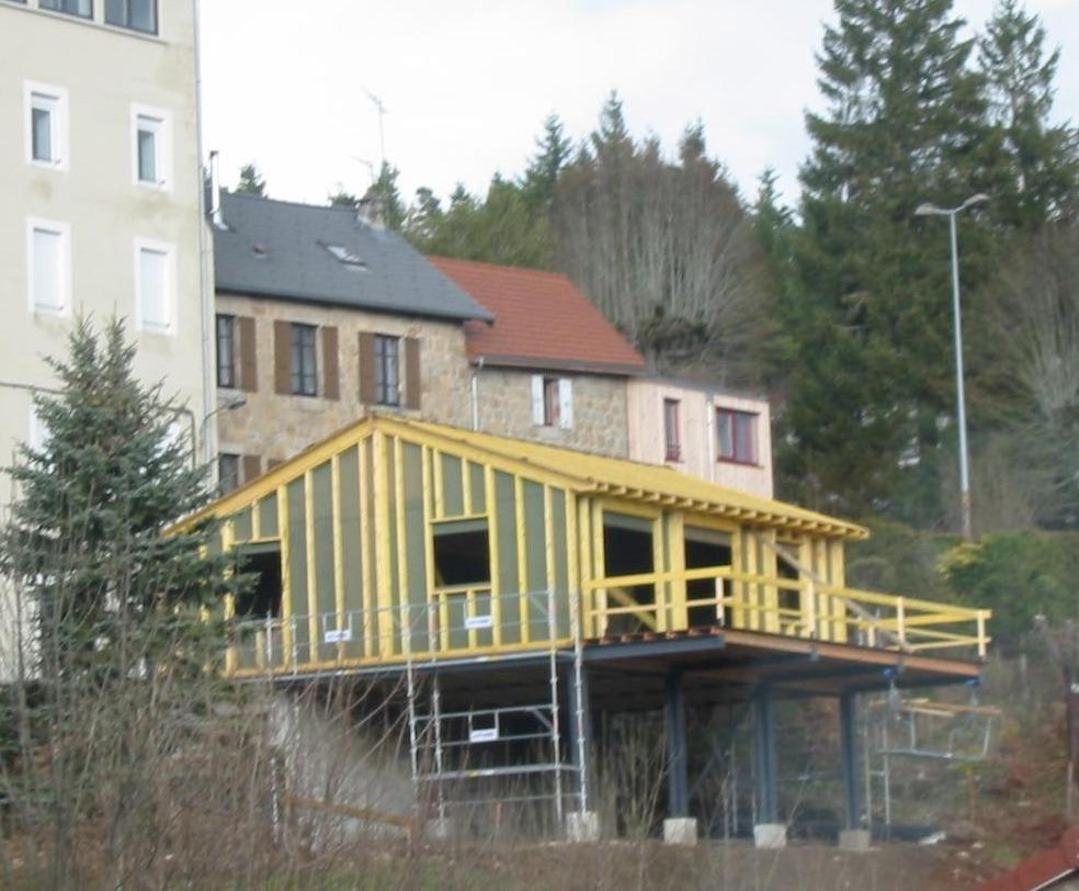 maison bois 43